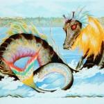 カナダの巨大水棲獣「オゴポゴ」
