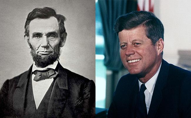 リンカーンとケネディ