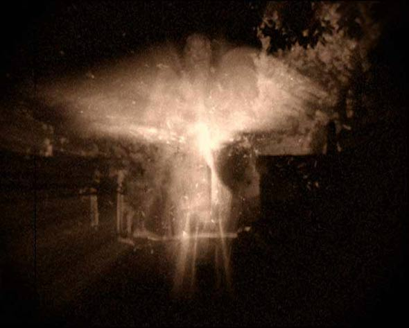 ウッドチェスター・マンションで撮影されたという設定の天使