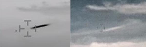 同じ対象物を撮影した比較画像。