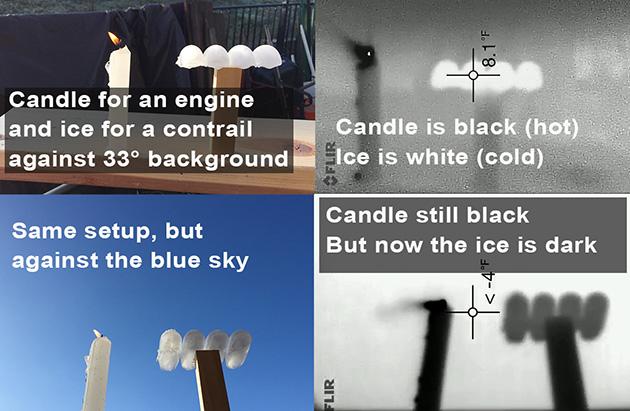 色は周囲の温度によって決まる。