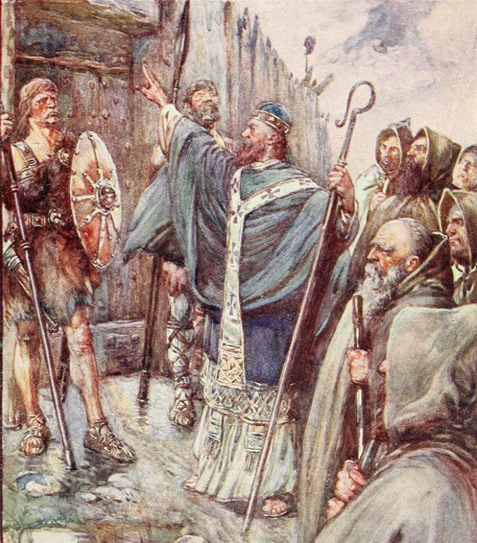 聖コルンバの想像画