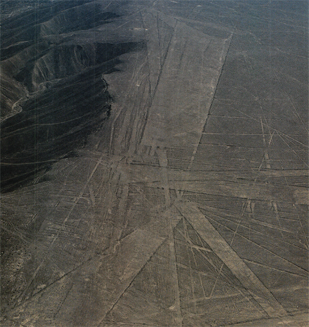 直線の地上絵