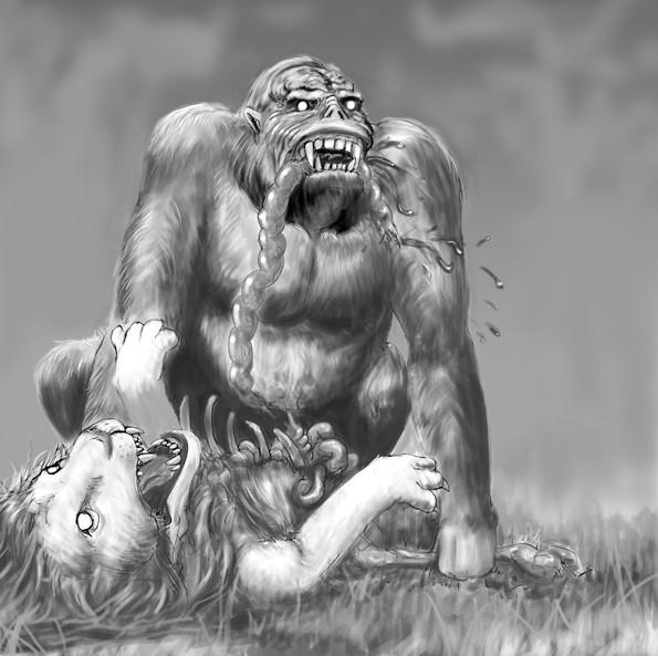 ライオン・イーターの想像図